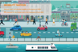 24 proposals for the Parisian area in the framework of Paris 2024.
