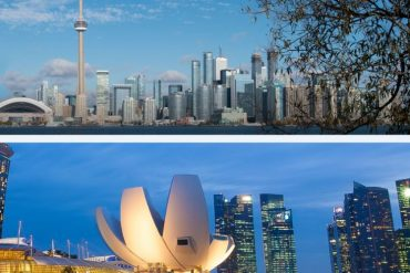 Toronto Singapour : des exemples de Smart cities