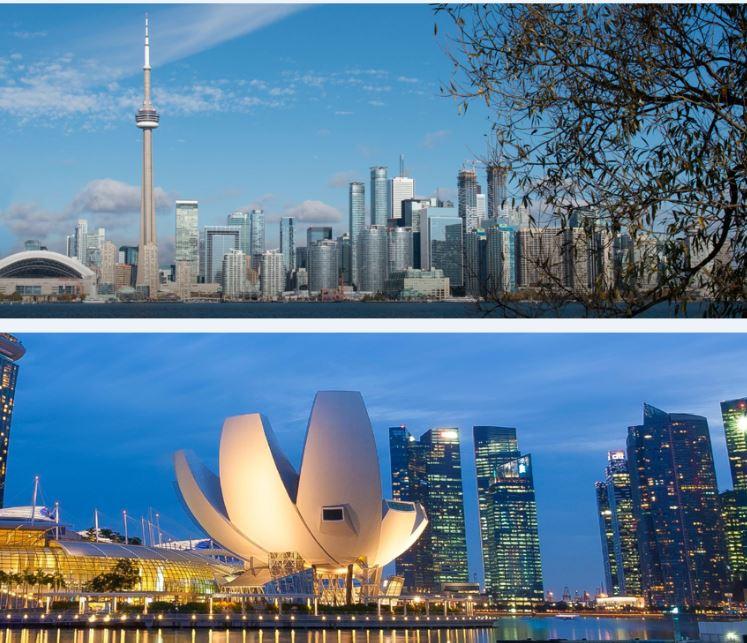 Toronto Singapour : des exemples de Smart cities